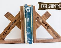 Engraved Bookends Book End Etsy