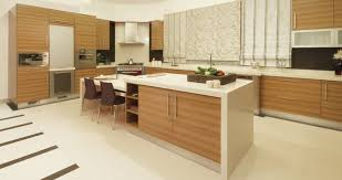 neutral and warm modern kitchen design 2016