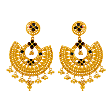 png gold earrings 22kt yellow gold earring gold earrings online for women p c