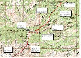mt lemmon hiking trails map mt bigelow ascent and descent tucson trail runners