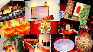 Morroco Style by Moroccan Style Birthday Late Blooms
