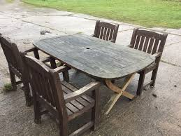 garden table and chairs gumtree home outdoor decoration