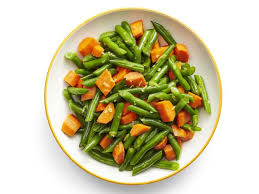 honey glazed carrots and green beans recipe food network kitchen