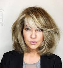 hairstyles for a trendy sixty year old blonde longish face 60 most prominent hairstyles for women over 40