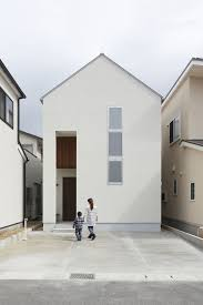 small narrow minimalist house in japan wood things pinterest