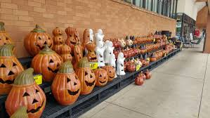 the kroger i work at has started already halloween