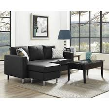 Sectional Sofa In Small Living Room Dorel Living Small Spaces Configurable Sectional Sofa
