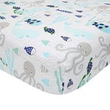 Lambs And Ivy Mini Crib Bedding by Lambs U0026 Ivy R Oceania Aqua Blue Aquatic Fitted Crib Sheet Toys