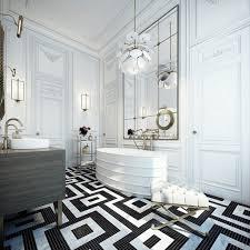 black and white tile bathroom decorating ideas good seashell