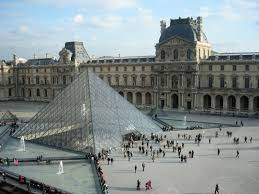 louvre museum at sunset wallpapers musee du louvre paris france mapquest denmark and france