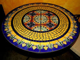 Mosaic Patio Furniture by Fresh Mosaic Patio Tables Uk 23710