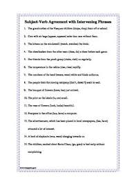 verb phrase worksheets free worksheets library download and