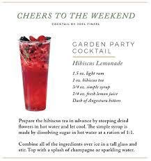 garden party cocktail garden party cocktail hibiscus lemonde focus on the coast