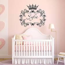 Nursery Decor Stickers Baby Nursery Decor Stickers Princess Baby Name Decals For Nursery