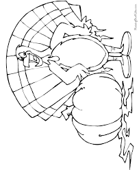 printables thanksgiving turkey coloring pages 014