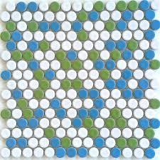 Penny Tile Kitchen Backsplash by 105 Best Kitchen Backsplash Images On Pinterest Kitchen