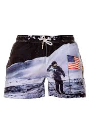 American Flag On The Moon Men U0027s American Flag Shorts Women U0027s American Flag Shorts
