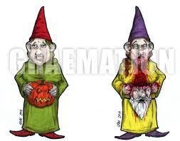 halloween garden gnomes halloween gnomes pen for hire