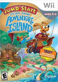 amazon com jumpstart escape adventure island nintendo wii