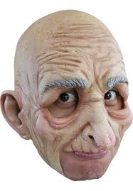 old man halloween mask character u0026 scary masks escapade uk