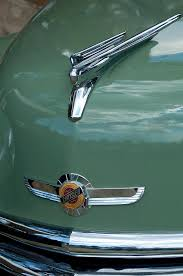 1950 chrysler newport ornament photograph by reger