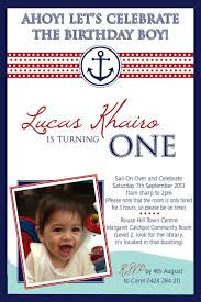 1st Birthday Invitation Card For Baby Boy 121 Best Baby Boy Birthday Party Images On Pinterest Nautical