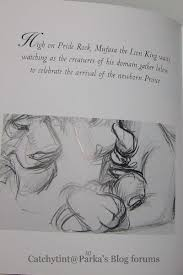book review art lion king disney minature series