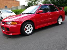 mitsubishi evo red mitsubishi evo 3 in sparkhill west midlands gumtree