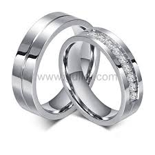 couples wedding rings images Custom titanium couples wedding bands for 2 personalized couples jpg