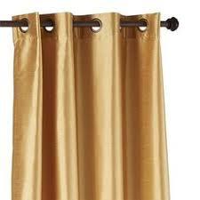 Gold Shimmer Curtains Shimmer Gold Grommet Curtain Gold Curtains Linens And Grommet