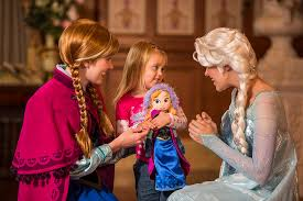 frozen u0027 anna u0026 elsa arrive princess fairytale hall magic