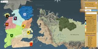 us map of thrones this map shows you around the of thrones universe