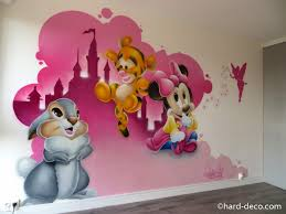 dessin chambre enfant chambres de filles décoration graffiti deco