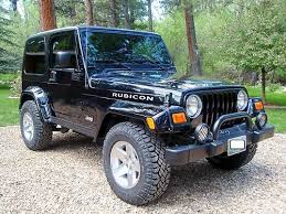 jeep wrangler tj rubicon for sale buy used 2003 jeep wrangler rubicon tj black 4 x 4 low