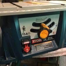 Ryobi 10 Inch Portable Table Saw Ryobi 10 Portable Table Saw Bts10 Euc What U0027s It Worth