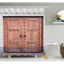largo antique double door cabinet french door curtains wayfair
