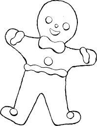 the gingerbread man coloring pages picture of needle free download clip art free clip art on