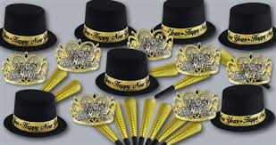 new years kits cambridge collection new year s party favors hats tiaras