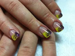 french tip acrylic nail designs u2013 popular manicure in the