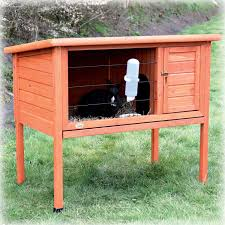 trixie natura one story rabbit hutch petco
