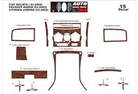 fiat ducato 03 02 01 06 interior dashboard trim kit dashtrim 15