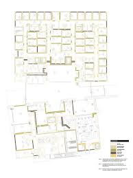 sci design group healthcare colored floor plan