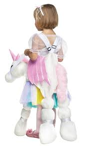 ride a unicorn pony toddler halloween costume child size up to 4 6
