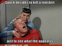 Red Shirt Star Trek Meme - image 293431 star trek know your meme