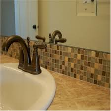 Installing Glass Tile Backsplash In Bathroom Ocean Mini Glass - Tile backsplash bathroom