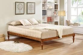 Brown Wood Bed Frame Wood Bed Frames You Ll Wayfair