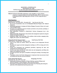 Example Of Finance Resume by Bullet Points Resume Free Resume Example And Writing Download