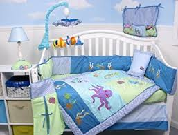 Aquarium Bed Set Soho Sea Aquarium Baby Crib Nursery Bedding Set