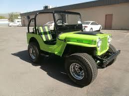 dark green jeep cj cj 2a ewillys page 16