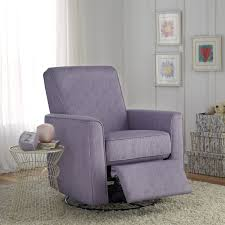 Side Table For Recliner Chair Furniture Purple Glider Slipcover With Wire Side Table On Cozy